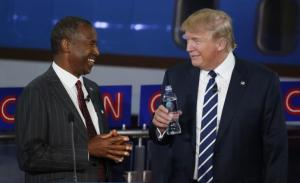 Ben Carson (Left), and Donald Trump ( Right)