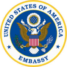 United States of America embassy seal