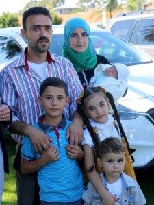 PHOTO: The Kujah family, father Bashar, mother Kawlah and children ( ABC NEWS)