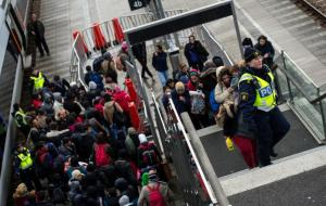 Sweden, a country of 9.8 million, took in more than 160,000 asylum seekers in 2015, putting it among the EU states with the highest proportion of refugees per capita (AFP Photo/JOHAN NILSSON)