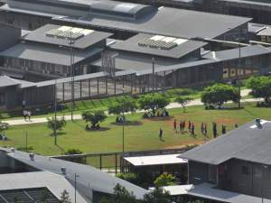 The detention centre at Christmas Island