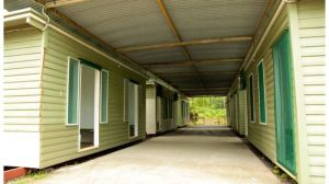 Access to the Manus Island camp by outside observers is extremely restricted