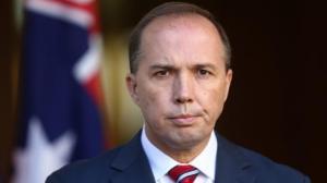Australian Immigration Minister, Peter Dutton