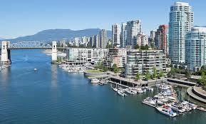 Canada city scene Vancouver